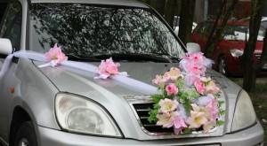 """Свадебная лента на капот автомобиля """"Натали"""""""