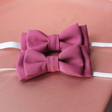 Галстук-Бабочка тканевая фиолетовая