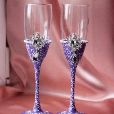 Свадебные бокалы Венера