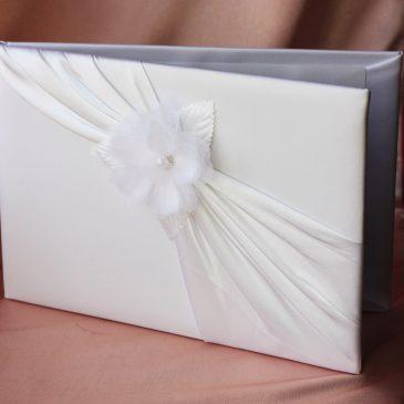 Альбом для пожеланий на свадьбу № 6 белый