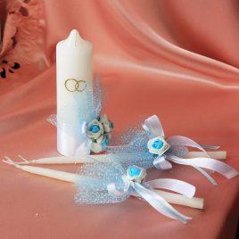 Свадебные свечи С Днем Свадьбы №2