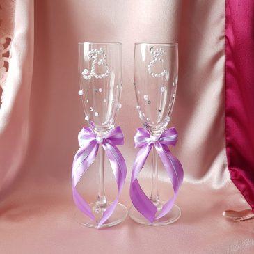 Свадебные бокалы №4