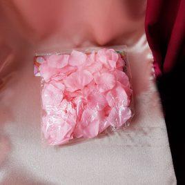 Лепестки роз, розовый №3