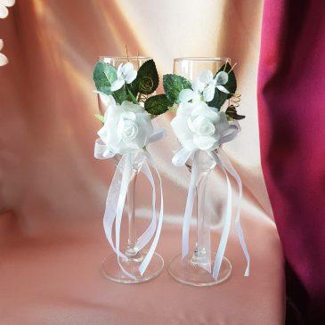 Свадебные бокалы №11