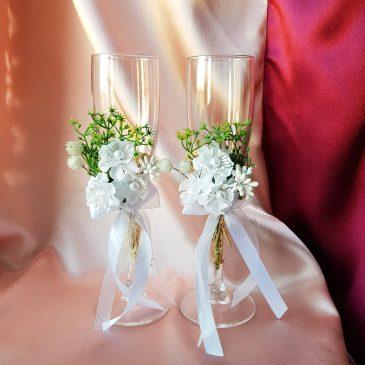 Свадебные бокалы №12