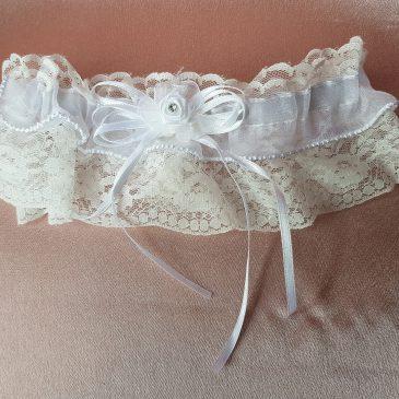 Свадебная подвязка невесты №9