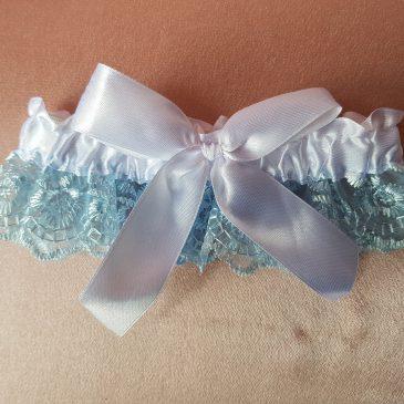 Свадебная подвязка невесты №14