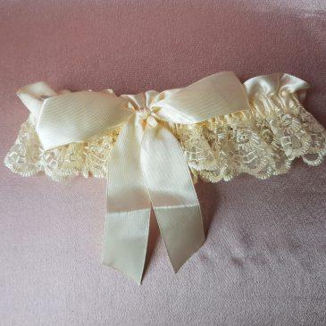 Свадебная подвязка невесты №11