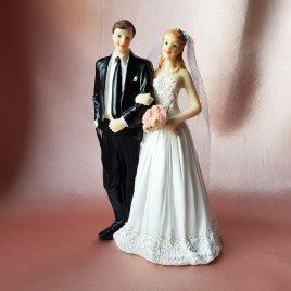 Фигурка свадебная пара жених и невеста №6