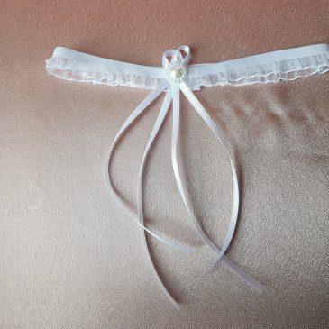 Свадебная подвязка невесты №4