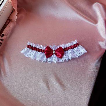 Свадебная подвязка невесты №17