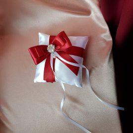 Свадебная подушка для колец Вечер №8