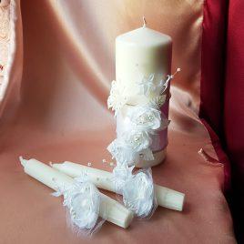 Свадебные свечи Семейный очаг №8