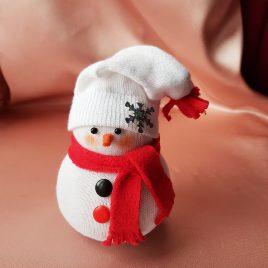 Снеговик Подарок на Новый год №1