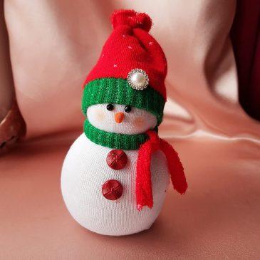 Снеговик Подарок на Новый год №2