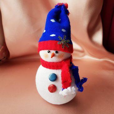 Снеговик Подарок на Новый год №3