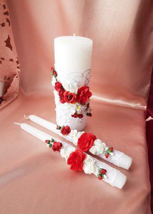 Свадебные свечи Семейный очаг №11