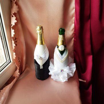 Одежда на бутылки на шампанское №16 ( съемная )