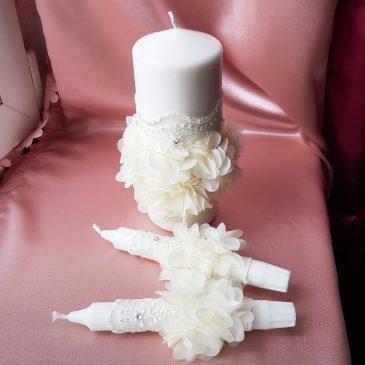 Свадебные свечи Семейный очаг №12
