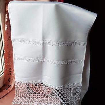 Рушник белоснежный №45