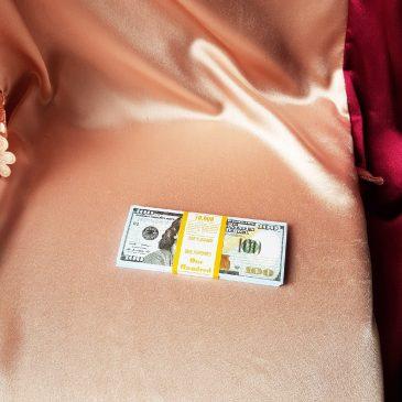 Шуточные деньги на выкуп 100 долларов №20