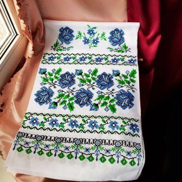 Рушник Орнамент розы №63