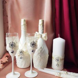 Свадебный набор Айвори №19