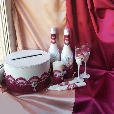 Свадебный набор Пион №18