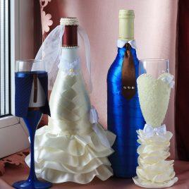 Свадебный набор Молодые №10