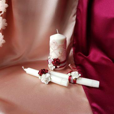 Свадебные свечи Аврора №21