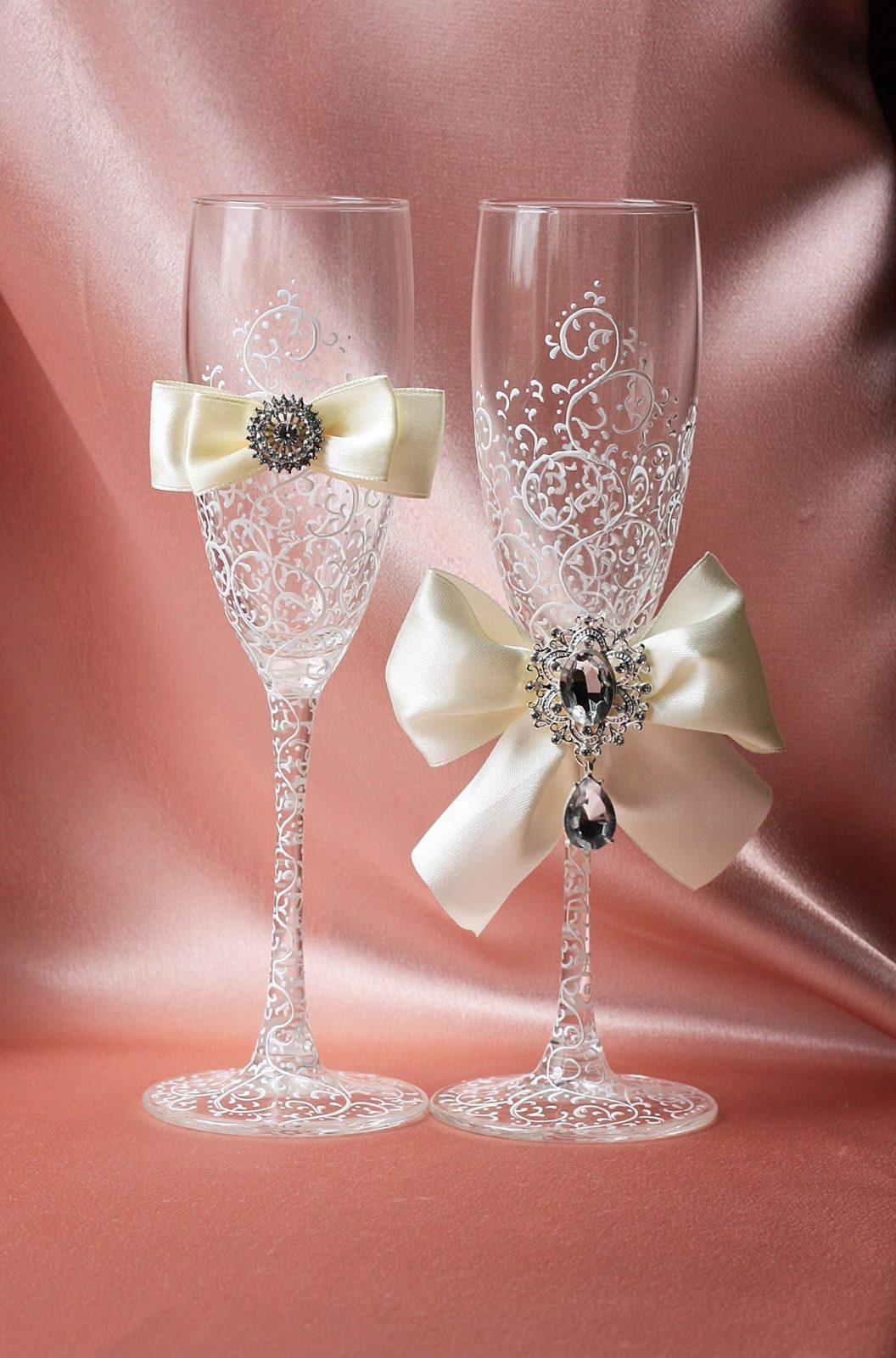 вышел отставку, фото бокалов на свадьбу ручной работы слегка серый слой